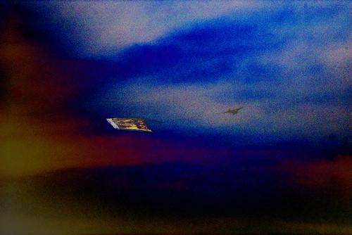 last flight to Jupiter blue