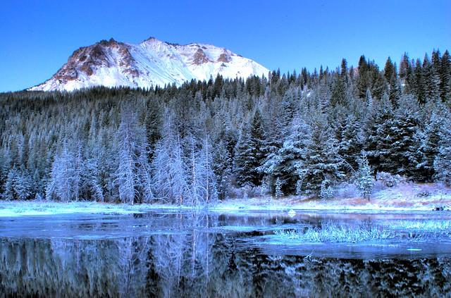 Hat Lake Snow