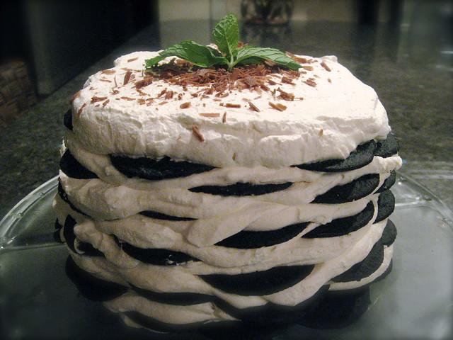 chocolate wafer icebox cake   Flickr - Photo Sharing!