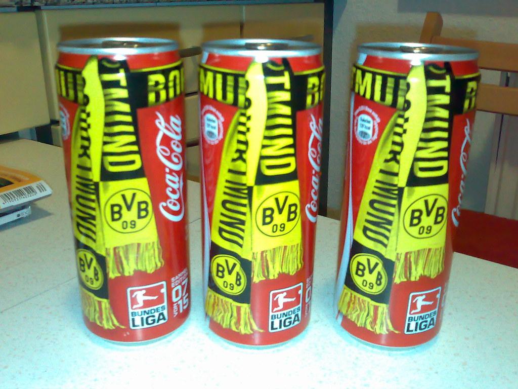 Borussia Dortmund renueva con Coca-Cola hasta 2020