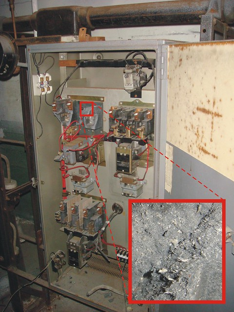 More Asbestos Electrical Material