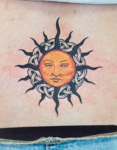 sun,celt Tattoo