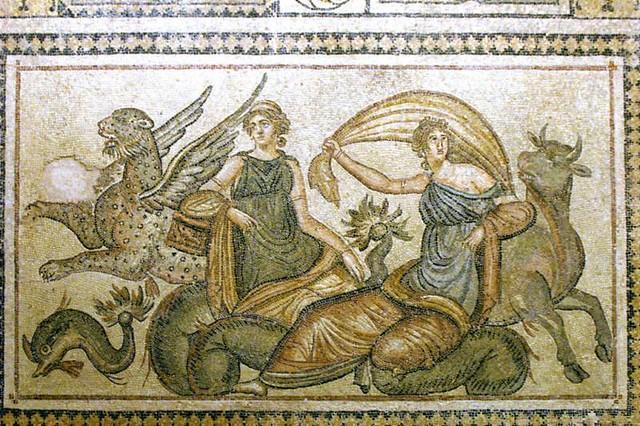 Zeus e Europa.