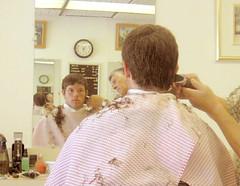 hairdresser, adult, barber,