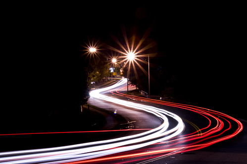 Roads At Night: It's Picking Up