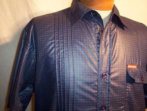 Men's Shirt -Reconstructed-Tucks