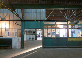 Picture of an exhibition. Abandoned factory L'Avenir