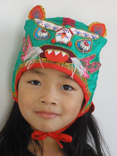 Olivia in Chinese Hat