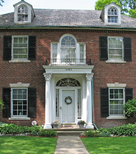 Things that inspire palladian windows for Palladian home designs