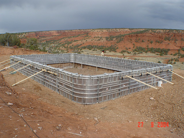 Concrete swimming pool construction flickr photo sharing for Concrete pool construction