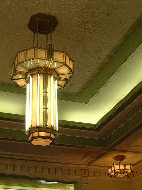 Hackney town hall 1930s london art deco light what a for Art deco interior design 1930