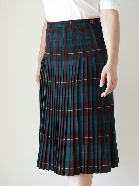 pleated wool skirt flickr photo