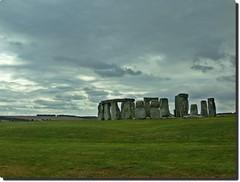 Stonehenge on a Gloomy Day