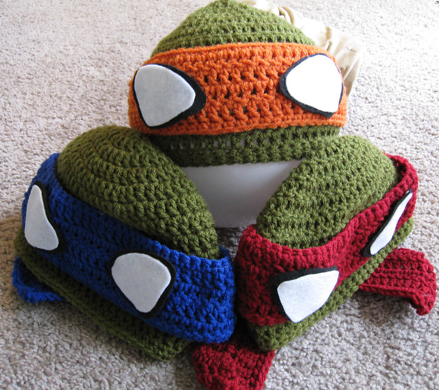 Crochet Ninja Turtle : Crochet Ninja Turtle Beanie Flickr - Photo Sharing!