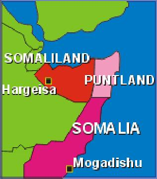 The autonomous region of Puntland in northeastern Somalia had been bombed by US warships. Kenyan air forces struck the breakaway region on January 20. by Pan-African News Wire File Photos