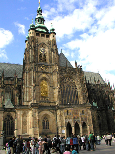 St. Vitus Cathedral by CC user Jandy Stone on Flickr