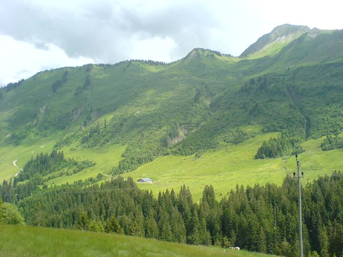 A view of Bregenzerwald in Vorarlberg
