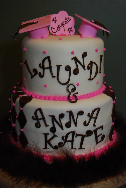 Graduation Cake Ideas For A Girl : Girl s graduation cake Flickr - Photo Sharing!
