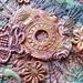 Detail Pastel Floral 4 by Karen Cattoire