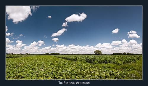 sky panorama austria corn fields styria
