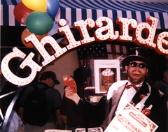 Wiz performs at special appearance in Ghirardelli Square, San Francisco, California.