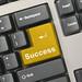 Keyboard - golden key Success by csitscenter