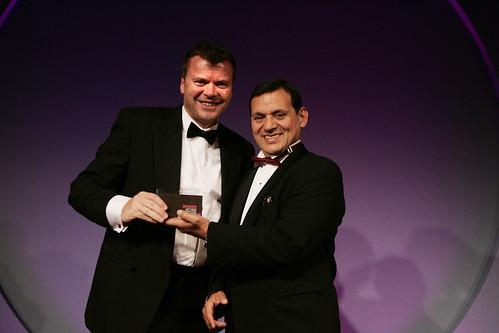 Access UK accept Sift Media Award 2008