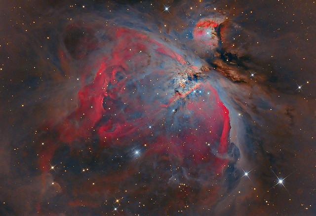 Astrofotografia.La Nebulosa de Orión, M42