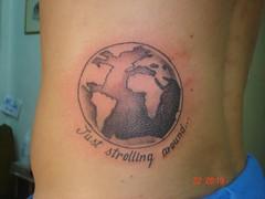 earth (Dejavu Tattoo Studio Chiangmai Thailand)