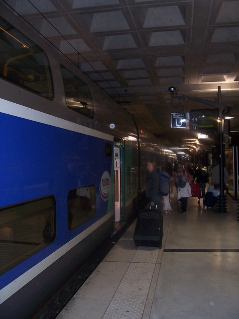 boarding the tgv duplex at lille europe flickr photo sharing. Black Bedroom Furniture Sets. Home Design Ideas