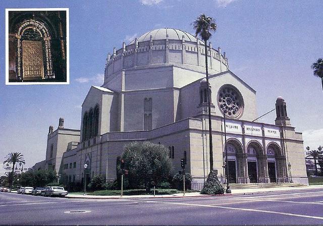 U.S. Los Angeles California Synagogue Jewish scan3962