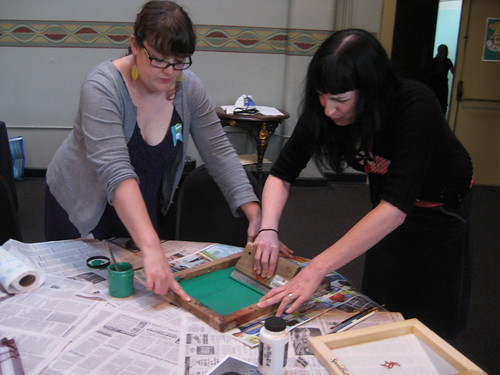 Screen Printing with Christy Petterson