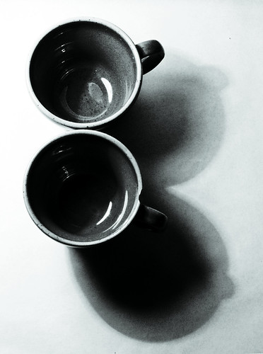 two cups- one picture