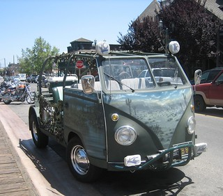 VW Topless Desert Rat Bus