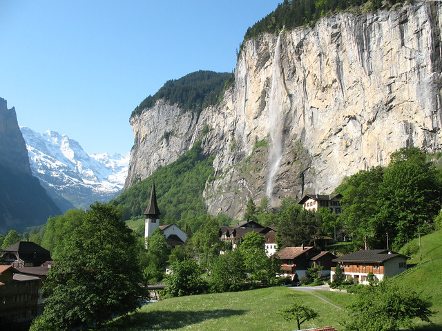 A View Of Lauterbrunnen