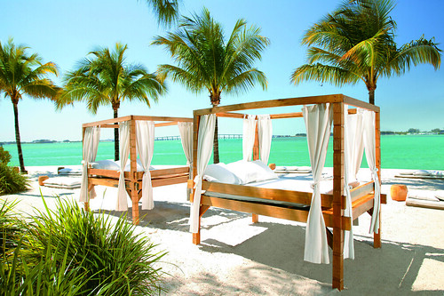 Mandarin Oriental Miami Private Beach | by Mandarin Oriental Miami