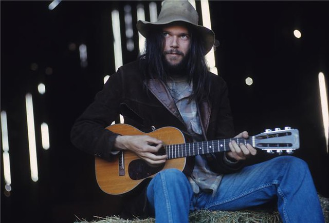 Neil Young, by Henry Diltz