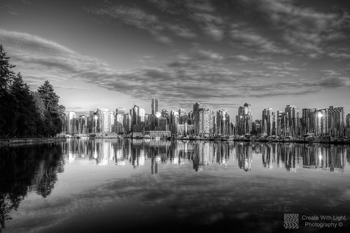 """Coal Harbour Sunset"" - Create With Light Photography ©"