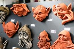 carving(1.0), art(1.0), clay(1.0), sculpture(1.0), head(1.0), ear(1.0), organ(1.0),