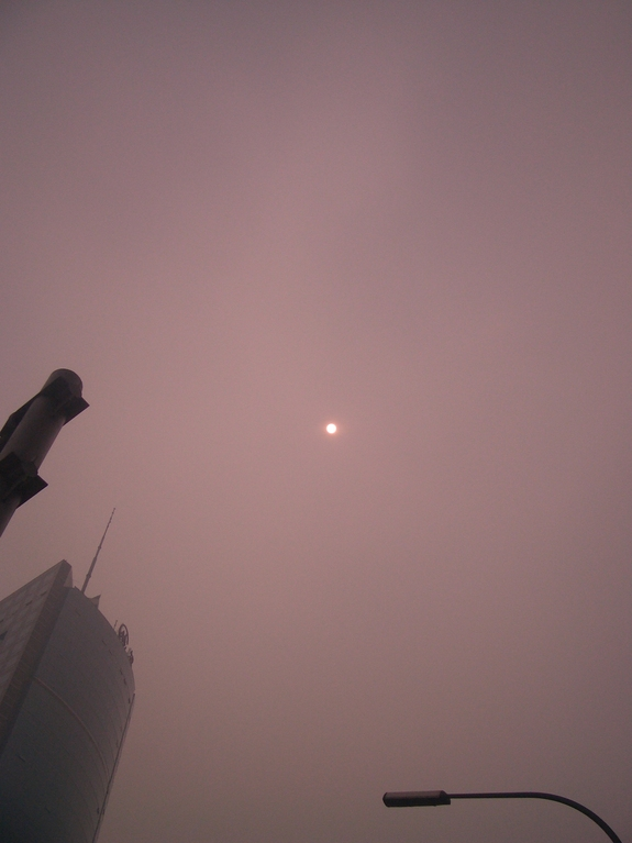 Beijing Smog: I Just Photographed the Sun