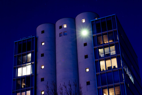 The Silo by Night 2