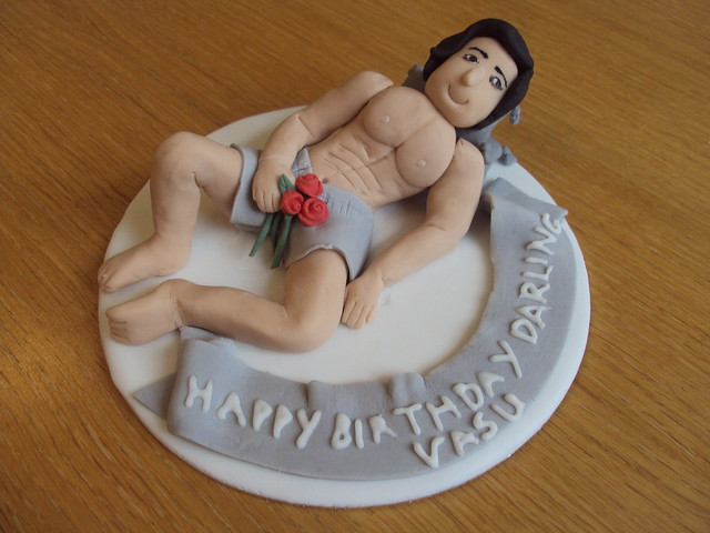 Birthday Cake Ideas Photos Hot : sexy man cake topper Flickr - Photo Sharing!