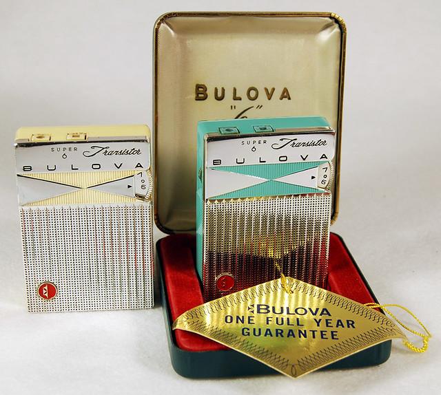 Bulova 6 Transistor Radio, 1960