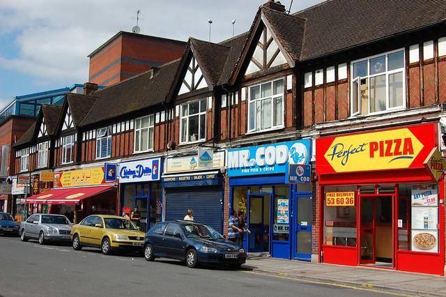 St Albans Shopping Centre Office Shoe Shop