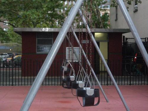 Columpios para bebés en Nueva York