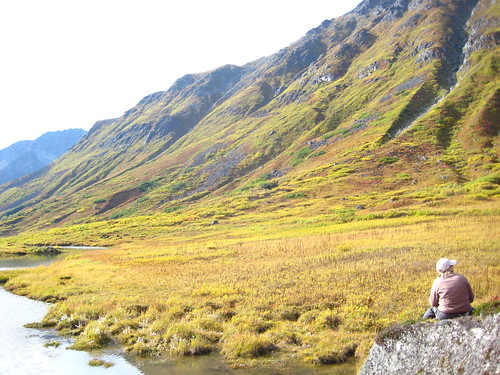 Karen at Hatcher Pass
