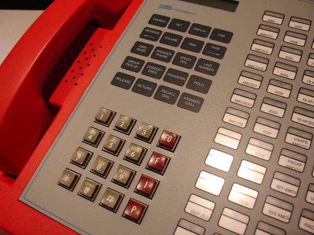 Electrospace Autovon Keypad