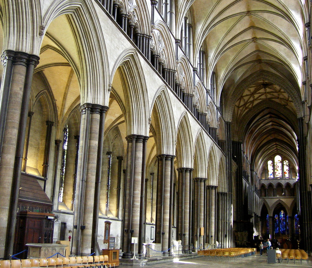 Salisbury Cathedral Nave images