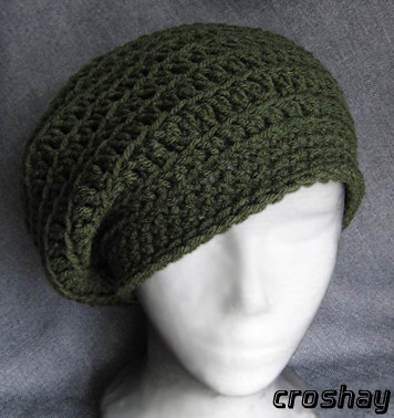 hannicraft: Simple beret crochet pattern - blogspot.com