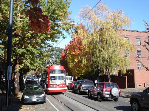 Streetcar in the Fall